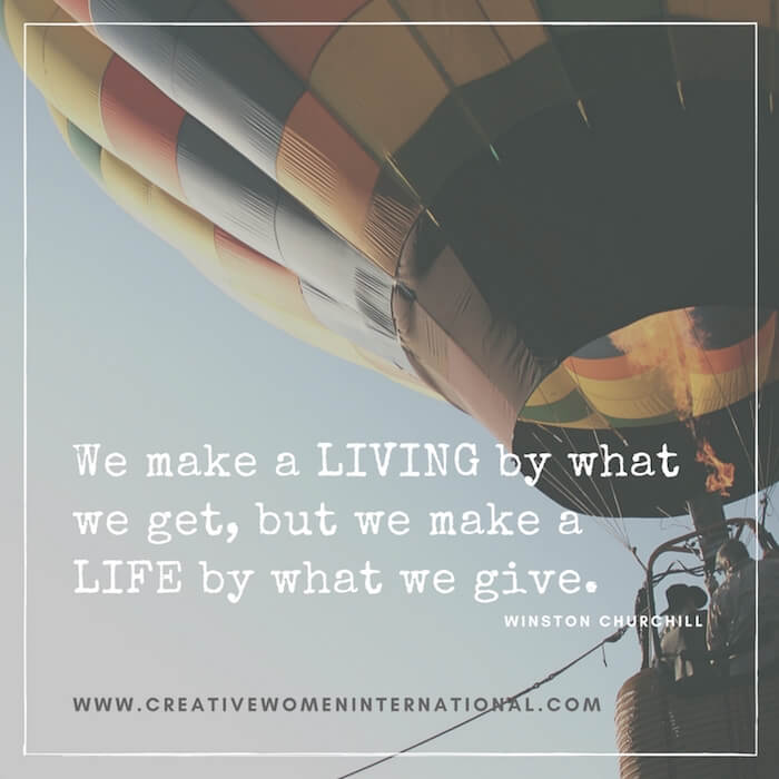 we-make-a-living-by-what-we-get-but-we-make-a-life-by-what-we-give