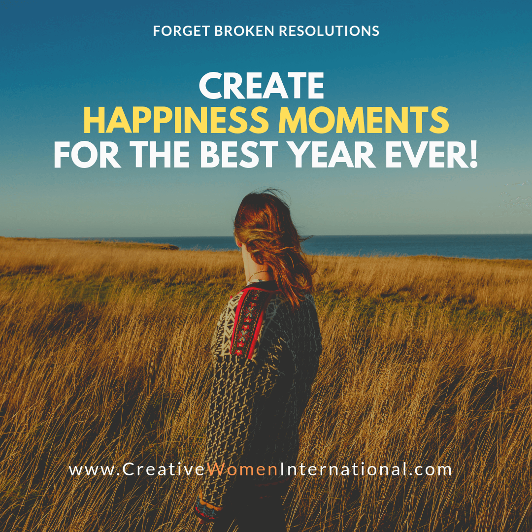 New Year Goals, Happiness Moments, Best Year Ever
