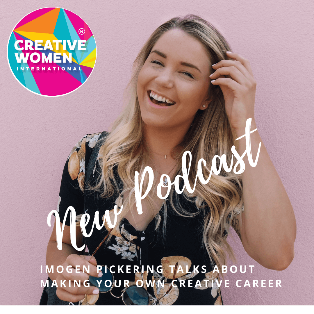 Imogen Apparel, Creative Women International podcast