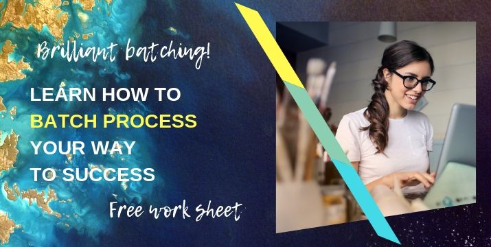 How to batch process