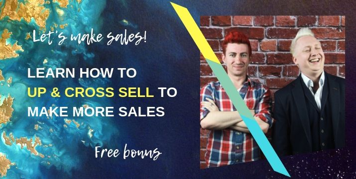 How to up sell